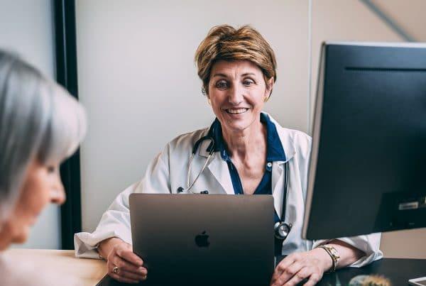 clinician diagnoses heart arrhythmia