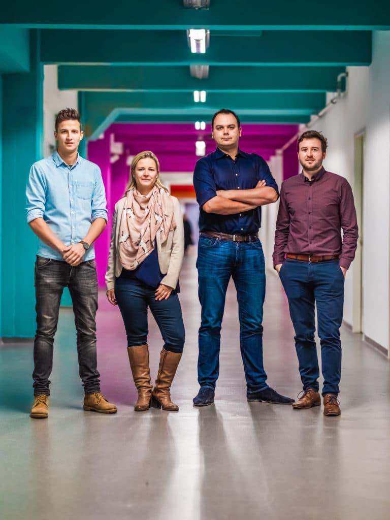 Fibricheck teamfoto