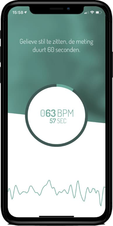meten hartritmestoornis smart phone