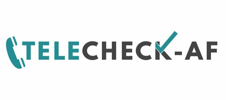 TeleCheck-AF logo